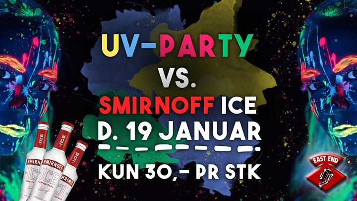 ◯ UV PARTY ◯ vs. Smirnoff Ice // EAST END