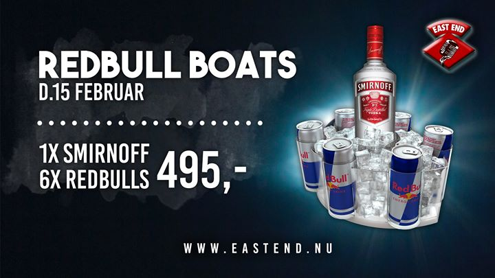 ✘ Red Bull BOATS // EAST END